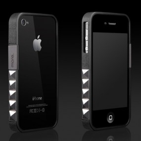 Glam Rocka Metal for iPhone 4S (Black)