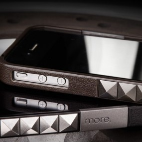 Glam Rocka Metal for iPhone 4S (Brown)