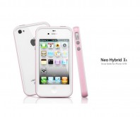 Neo Hybrid 2S Snow for iPhone 4/4S (Pink)