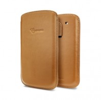 Samsung Galaxy S3 Crumena Leather Pouch (Brown)